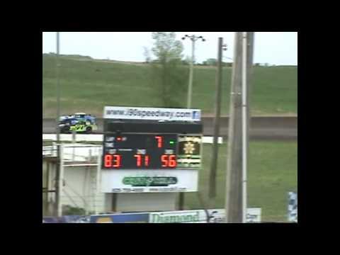 I-90 Speedway Late Model Street Stock Heat  5-9-15
