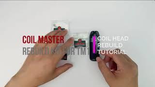 How to Rebuild V๐oPoo PnP-TM1 Mesh Coil with Coil Master RBK | Rewick Tutorial