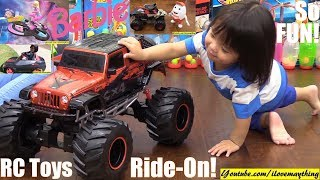 Fisher-Price Power Wheels, Barbie Toy Dolls, Monster Jam Truck Toy, RC Toy Cars JEEP Wrangler