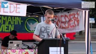 8. Friedensmahnwache in Wien: Michael über seine Erfahrungen (16.6.2014)