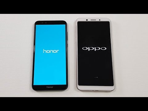 Honor 9 Lite vs Oppo F5 Speed Test Comparison | Which is Faster !