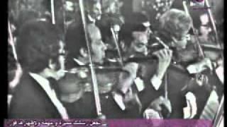 في يوم من الايام حفله كامله عبد الحليم حافظ