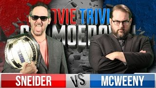 Jeff Sneider Vs. Drew McWeeny - Movie Trivia Schmoedown