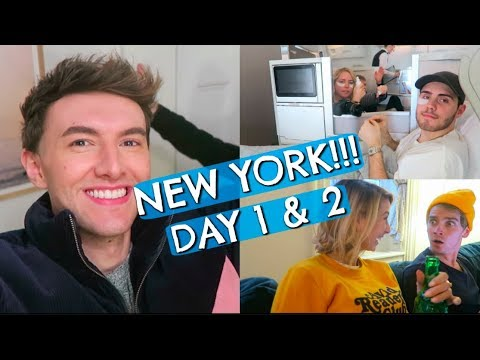 WE WENT TO NEW YORK (DAY ONE & TWO)