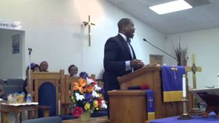 6-8-14 Rev Dr Lamont Johnson at St. Luke #2 FWBC
