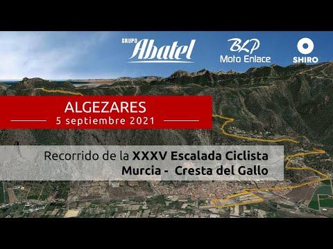 Algezares. XXXV Escalada ciclista Murcia - Cresta del Gallo 2021