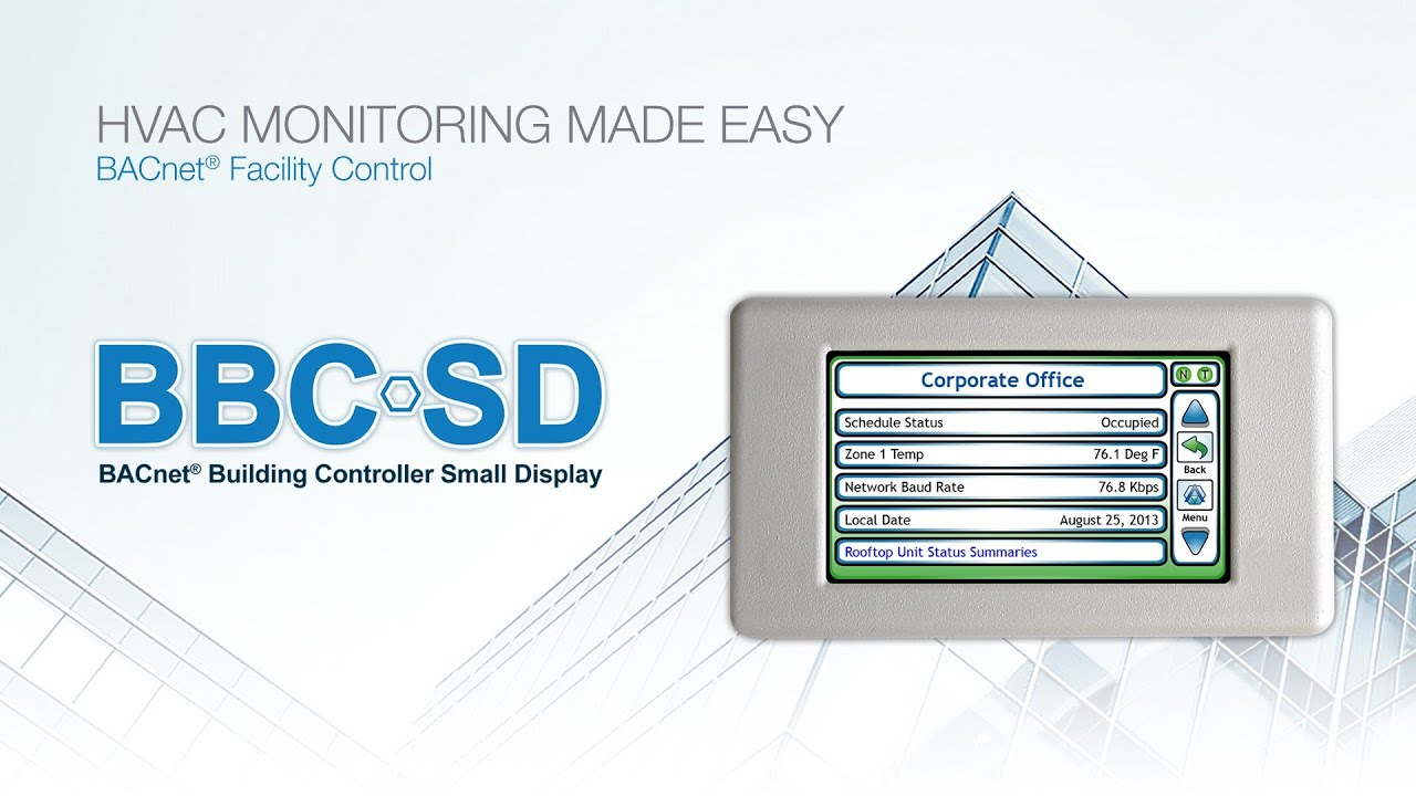 BBC-SD : BACnet Building Controller Small Display