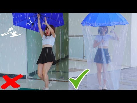 Girl DIY! 7 RAINY DAY IDEAS FOR WONDER LIFE! Life Hacks Every Girl Should Know By LIKEDER
