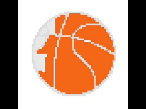 Ballon De Basket Pixel Art Youtube