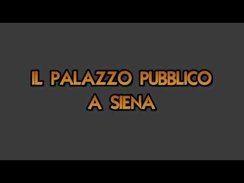 Il palazzo pubblico a Siena