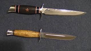 финка НКВД с красной звездой-легендарный нож,экслюзивные материалы,прецизионное исполнение.