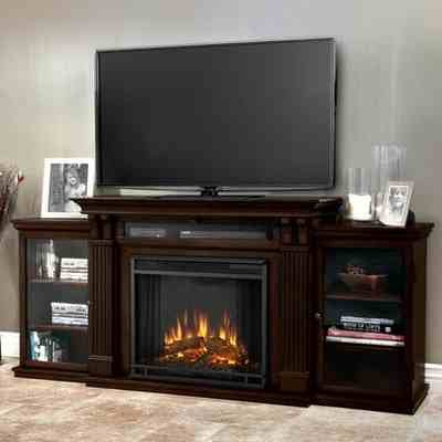 Calie Real Flame Electric Fireplce Tv Stand Review Worth A Look