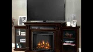 Calie Real Flame Electric Fireplce TV Stand Review - Worth A Look?