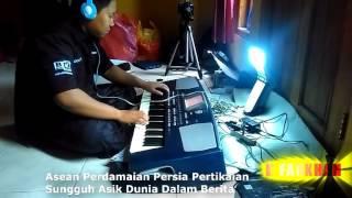 Dunia Dalam Berita (Qosidah) Karaoke Lirik cover L'Farkhan Qosidaeh Wong Kebumen