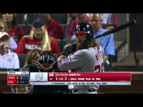 MLB 2015 02 Sept St.  Louis Cardinals vs Washington Nationals