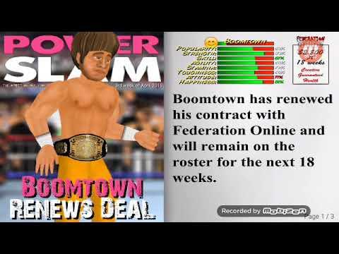✔ JTL V Beastmode9000 MASK VS CAREER MATCH! | Wrestling Revolution