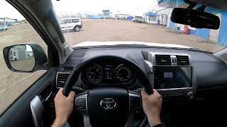 Toyota Land Cruiser Prado POV TEST Drive