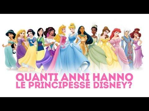 Le Principesse Disney: quanti anni hanno?