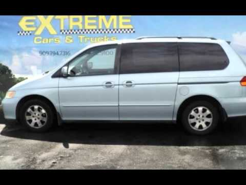 Minivans For Sale >> Used 2004 Honda Odyssey Minivan For Sale In Redlands Ca Preowned