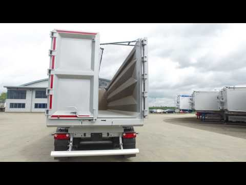 2017 75 cu yd Newton Steel Tipping Trailer - The Lightest