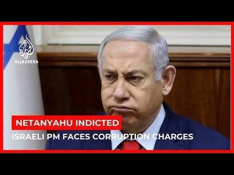 Image result for Netanyahu indicted for corruption