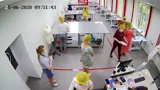 """ДЭ по компетенции """"Технологии моды"""" - 25.06.2020 - Камера 3"""