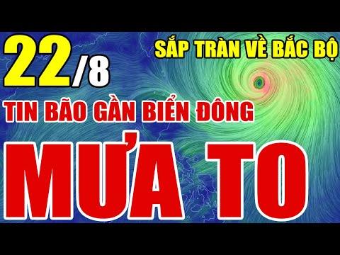 Dự báo thời tiết ngày 22 tháng 8 năm 2021   Dự báo thời tiết 3 ngày tới