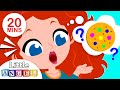 🍪 Who Took The Cookie? Sing Along with Princess Merida & Humpty Dumpty | Kids Songs by Little Angel