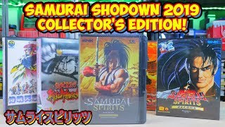 Samurai Shodown 2019 Collector's Edition Unboxing! サムライスピリッツ 2019