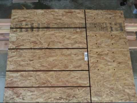 Marvelous Stair Tread And Riser Layout   Plywood Or OSB   YouTube