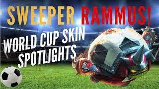 SWEEPER RAMMUS!   WORLD CUP FOOTBALL SKIN SPOTLIGHT   LEAGUE OF LEGENDS   TRUE NORTH KOALA