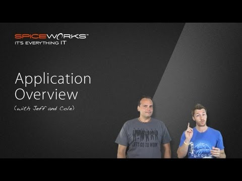 Spiceworks App Overview
