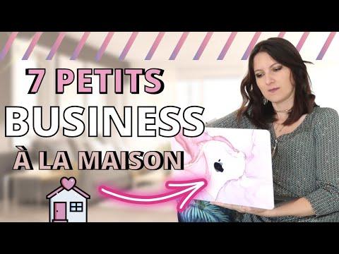 7 Petits Business Que Tu Peux Faire à La Maison