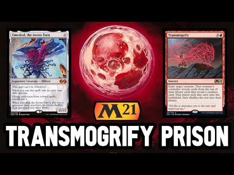 💣 TRANSMOGRIFY PRISON COMBO 💣 Easy Turn 4 Emrakul! 【 MTG Modern Gameplay 】