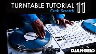 Turntable Tutorial 11 - CRAB (Mixer Scratch Technique)