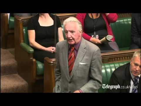 Prime Minister David Cameron tells veteran MP Dennis Skinner to resign