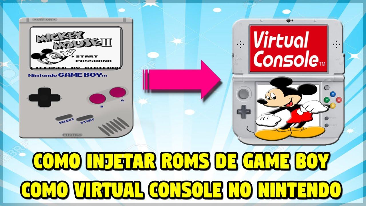 virtual console roms