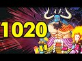 One Piece Chapter 1020 Review: CHARACTER MOMENTS