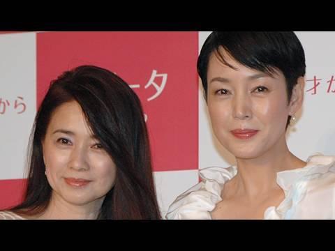きれいな50代、樋口可南子と風吹ジュンが化粧品のCMに