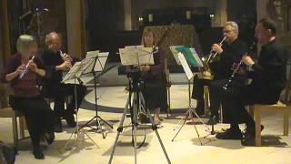 Poulenc Novelette  Aquillos Ensemble