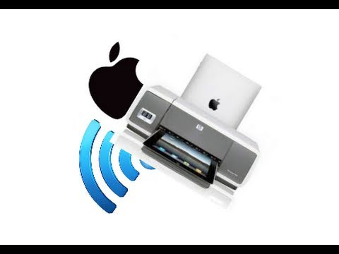 iOS AirPrint Demo (Any Printer)