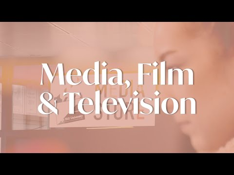Media, Film And Television Degree At Edge Hill University