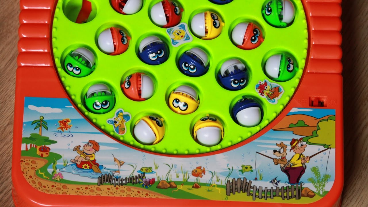 Fishing games for kids to play - Fishing Game For Kids Catch Toy Fish At Home