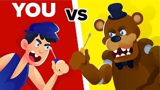 YOU vs FREDDY FAZBEAR - Could You Defeat And Survive Him? (Five Nights At Freddy