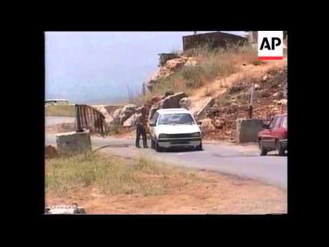 LEBANON: ISRAELI BACKED SLA WITHDRAW FROM JEZZINE