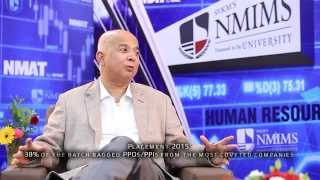 Why NMIMS is most preferred destination for MBA -Dr. Debashis Sanyal