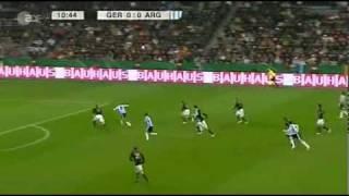 03.03.2010 Germany 0-1 Argentina Highlights