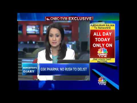 CNBC-TV18 Exclusive: GSK Pharma To Delist?