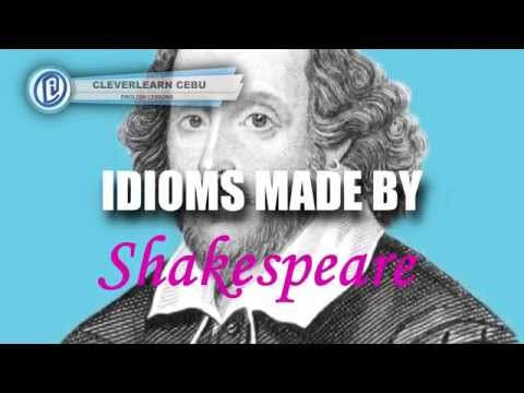 Idioms Coined by Shakespeare