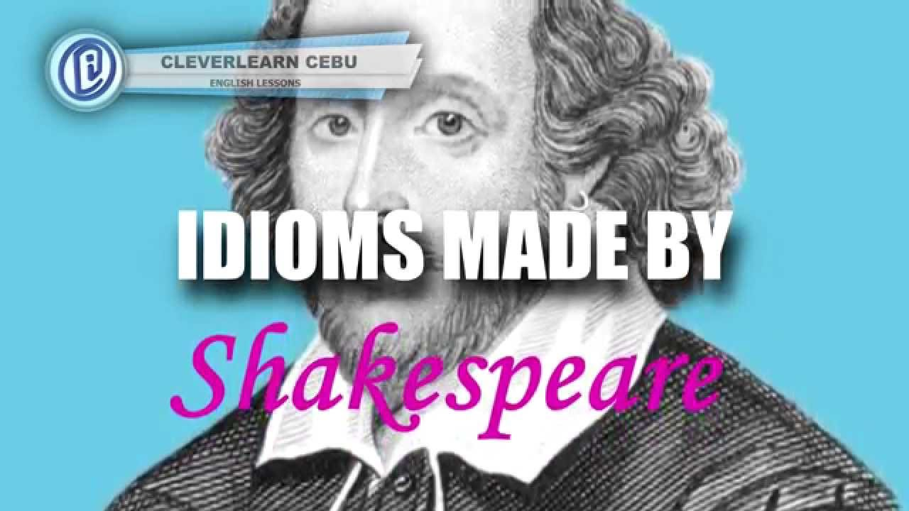 idioms coined by shakespeare youtube